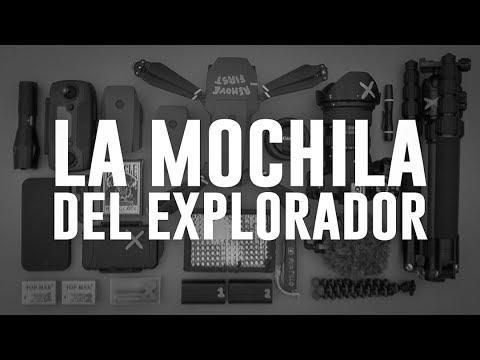 El SECRETO de la «X» y mi MOCHILA de Exploración Urbana y Fotografía — Portillo
