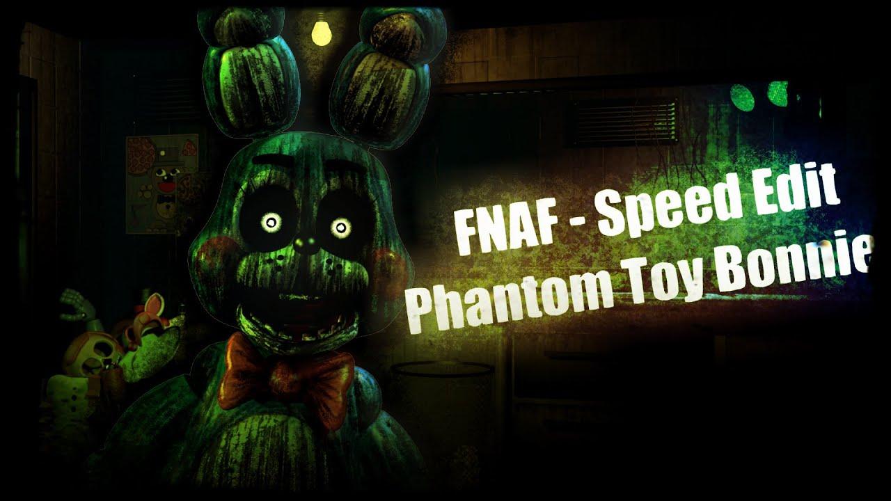 [Speed Edit ]FNAF - Making Phantom Toy Bonnie - Haciendo a Phantom Toy  Bonnie