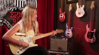 "Lissie - ""Further Away (Romance Police)"" Ernie Ball Set Me Up Session"