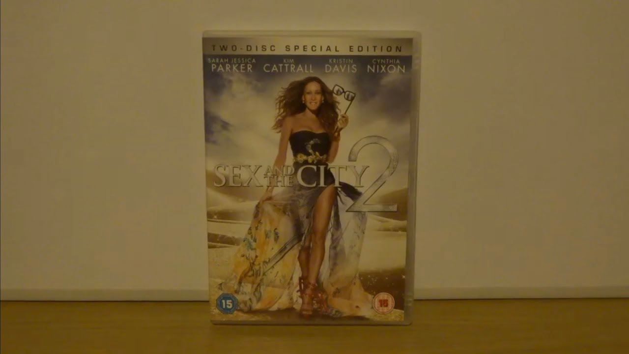 Download Sex And The City 2 (UK) DVD Unboxing
