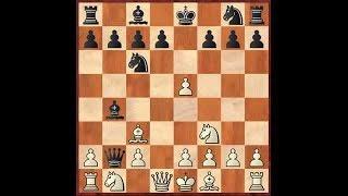 Шахматы.  Ловушки в гамбите Энглунда