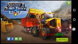 Loader and Dump Truck Andoid Game