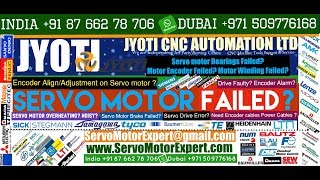 Jyoti Machine Repair, Servo Motor Repair in Delhi, Faridabad, Gurgaon Pune Hyderabad Mumbai Chennai