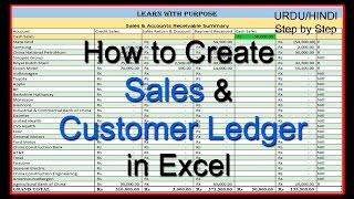 Comment Créer des Ventes et de la Clientèle Livre dans Excel OURDOU/HINDI