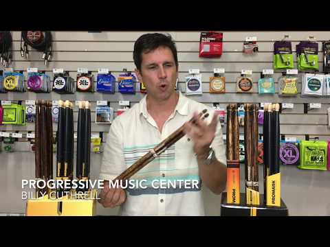 NEW Pro Mark FIRE GRAIN Drum Sticks at Progressive Music Center