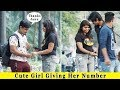 Cute Girl Giving Her Number With A Twist || Prank In India 2019 || Funday Pranks