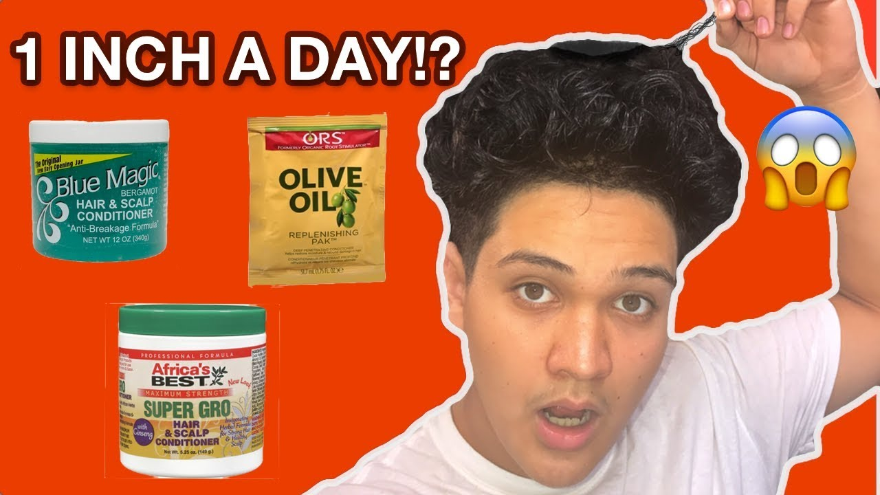 How To Grow Your Hair Faster Overnight 1 Inch In A Day