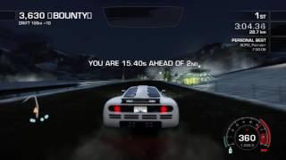NFS:Hot Purusit | Redline Racing 7:49.08 | Former WR