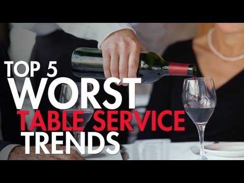 5 Ways For A Waiter To Lose Their Tip