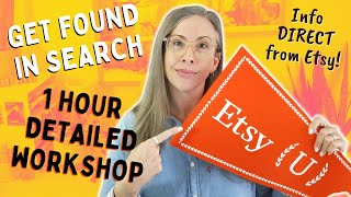 How to rank highly in Etsy search 2020! - Etsy SEO/Discovery Workshop