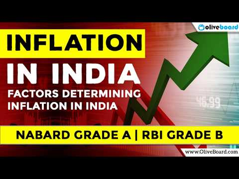 Inflation in India - Factors Determining Inflation | NABARD GRADE A | RBI GRADE B
