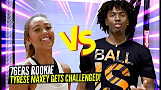 Tyrese Maxey Reveals His Most EMBARASSING Moment! 76ers Rookie Goes 1on1 w/ Keke!
