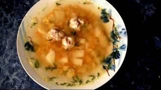 Простые рецепты: Гороховый суп с фрикадельками