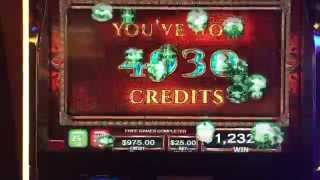Sky Rider 18 FREE GAMES at $25/pull on the Sky Rider Slot Machine