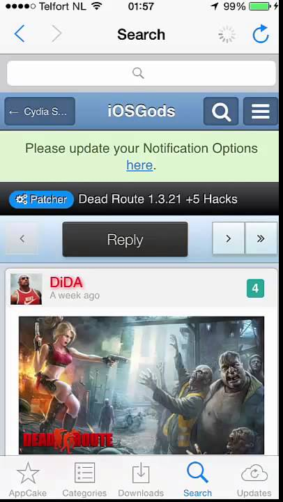 How to easily install  deb Cheats from iOSGods com using AppCake by