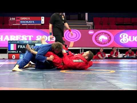 GOLD Men's GP Gi - +100 kg: A. DJABALI (FRA) v. K. KHACHILAEV (RUS)
