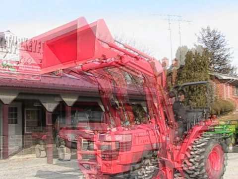 Kubota L3400 Tractor LA463 Loader 4x4 87 Hours