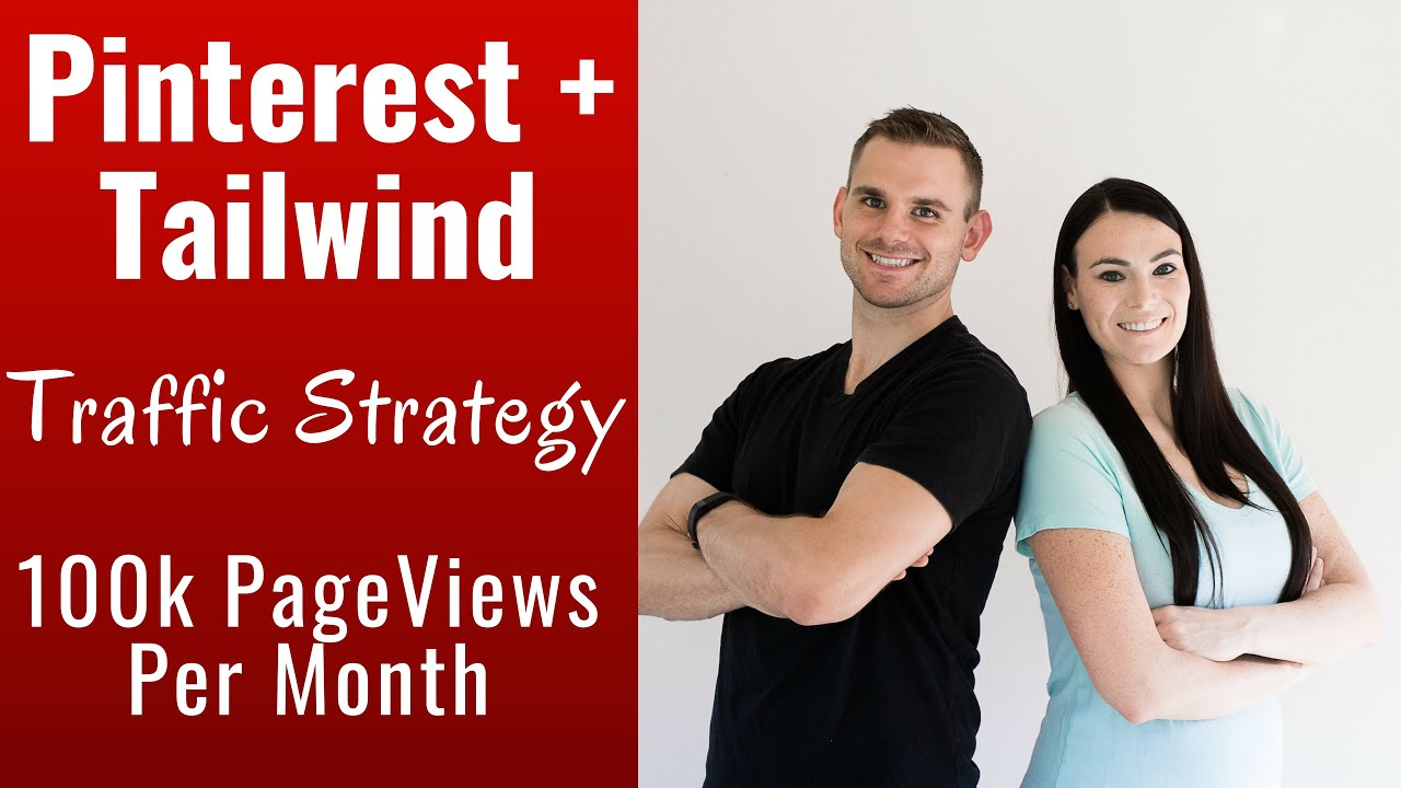 Pinterest + Tailwind Traffic Strategy That Drives 100k Page Views Per Month