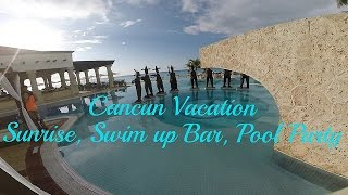 Hyatt Zilara - Sunrise, Swim-Up Bar, & Pool Party talk - Cancun Vacation
