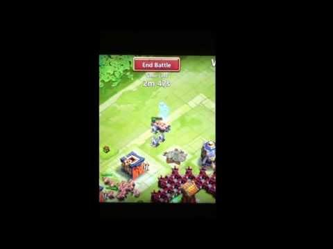 Castle Clash Farming Shards!!