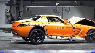 видео Краш тест Mersedes-Benz SLS AMG 2010