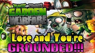 Plants Vs. Zombies Garden Warfare - Lose and You