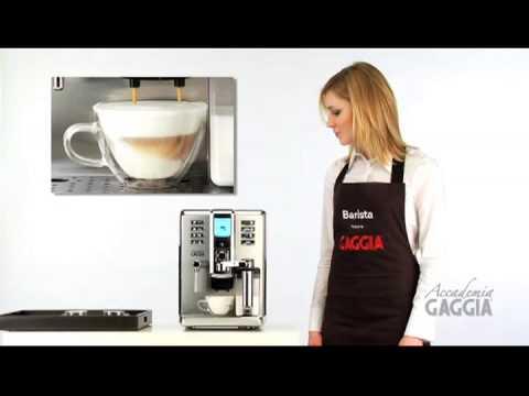 Как кофемашина Gaggia Accademia работает и готовит напитки