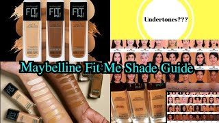 Maybelline Fit Me Foundation 40 Shade Information | for pink, warm, neutral undertones |