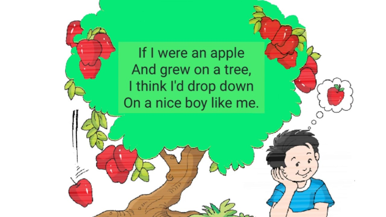 ch 11 if i were an apple lesson cbse grade 1 youtube