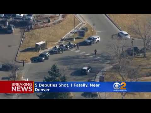 5 OFFICERS SHOT AND 1 DEPUTY KILLED   DENVER CO