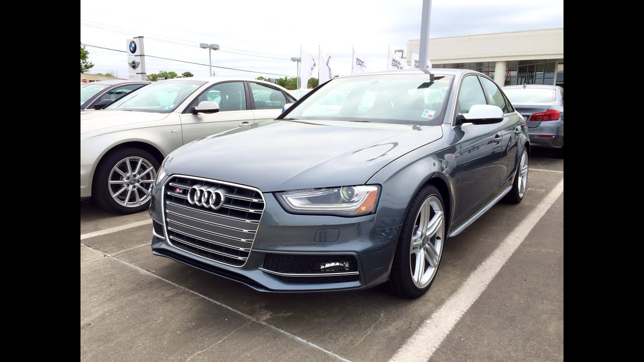2014 Audi S4 Quattro S Tronic Startup, Exhaust and In Depth Review ...