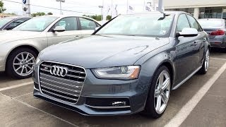 2014 Audi S4 Quattro S Tronic Startup, Exhaust and In Depth Review