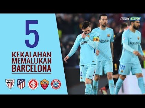 Fans Madrid Boleh Bangga! Inilah 5 Momen Kekalahan Paling Memalukan Barcelona ● Starting Eleven