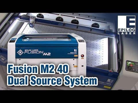 New Fusion M2 40   Epilog Laser   CO2, Fiber, or Dual Source Laser System