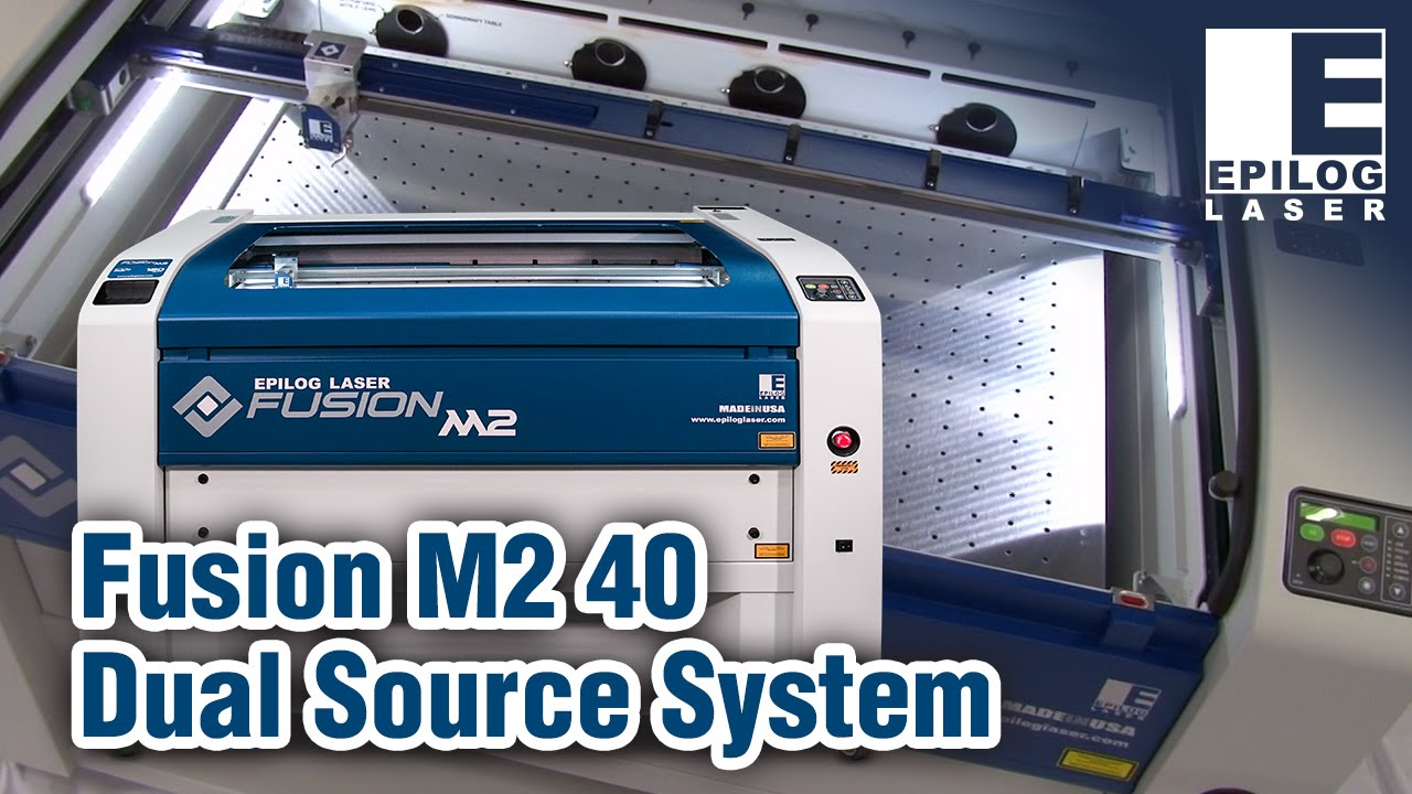 Epilog Fusion M2 40 Laser Cutting and Engraving Systems