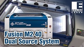 New Fusion M2 40 | Epilog Laser | CO2, Fiber, or Dual Source Laser System