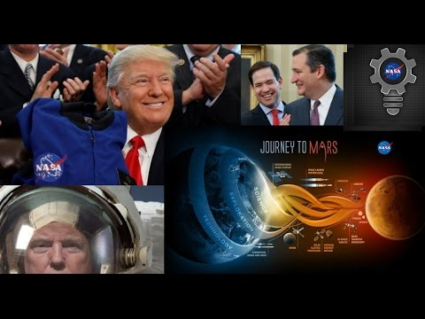 TRUMP: Signs the NASA Transition Authorization Act of 2017
