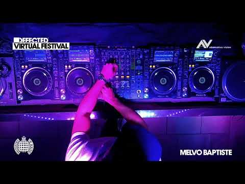 Melvo Baptiste - Live @ Defected Virtual Festival (Ministry Of Sound)