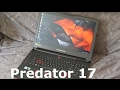 Vista previa del review en youtube del Acer Predator 17 G9-793-79V5