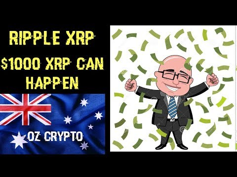 Ripple XRP: $1000 XRP Can Happen