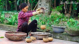 Thịt kho dừa thơm ngon I Làm chậu hoa từ gáo dừa I ( Braised Pork With Coconut ) I Ẩm Thực Mẹ Làm