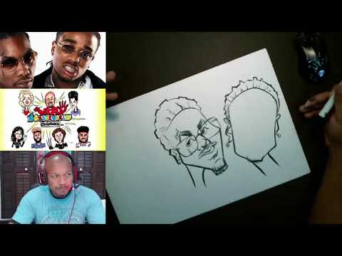 How To Draw Caricature Migos