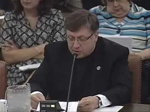 Jul 20 10 Hearing on the Need for Charitable Assistance: Father Larry Snyder Opening Statement