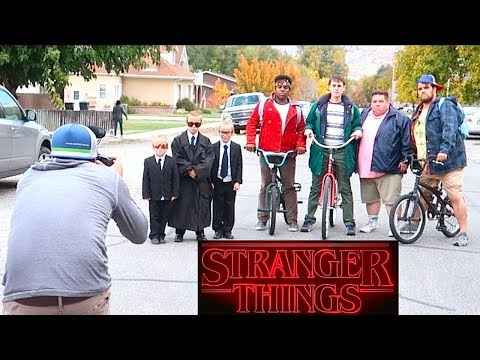 STRANGER THINGS IN REAL LIFE!!