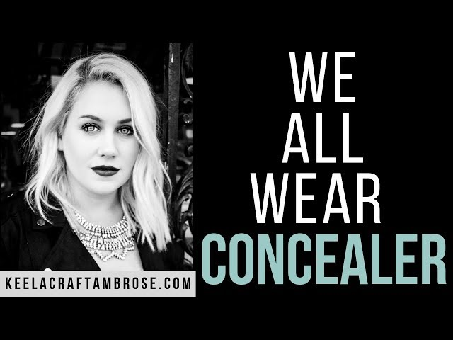 WE ALL WEAR CONCEALER - KEELA CRAFT AMBROSE