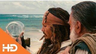 Джек Воробей и мешок с кораблями ✦ Пираты Карибского моря: На странных берегах (2011)