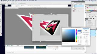 How To Draw Sports Logos: A Web Presentation Technique