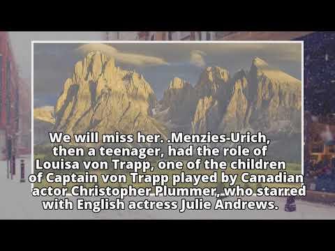 Sound Of Music star Heather Menzies-Urich, known for playing Louisa von Trapp, dies aged 68
