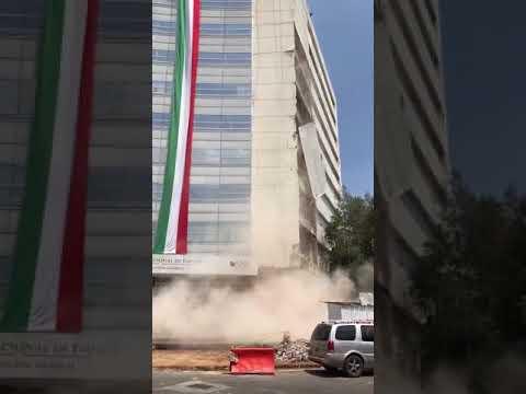 Esto causo el sismo de magnitud 7 en estos momentos en México