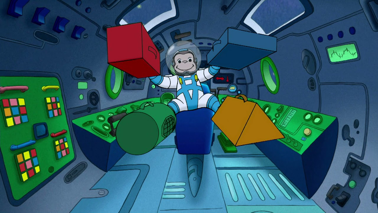 Un Viaje Espacial | Jorge el Curioso